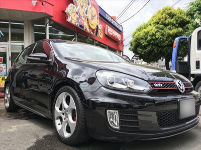 VW Golf gtiタイヤ交換