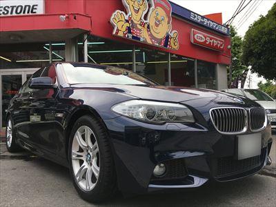 BMW 5シリーズF10 ランフラットタイヤ交換