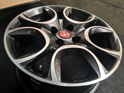 FIAT500用ホイールMAKトリノ