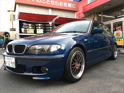 BMW E46 タイヤ交換 ミシュラン