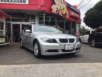 BMW3シリーズランフラットタイヤ交換