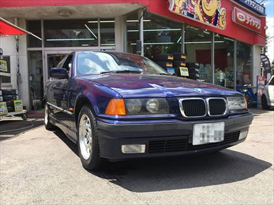 BMW 3シリーズタイヤ交換
