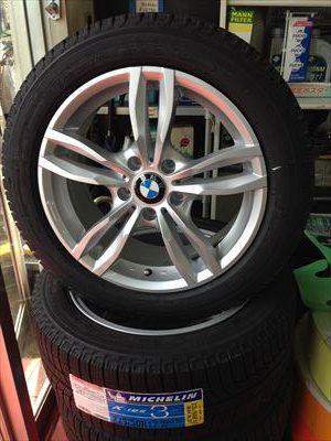 BMW ランフラットスタッドレスタイヤホイールセット