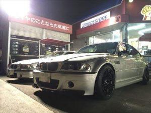 BMW E46 M3 タイヤ交換