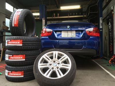 BMW タイヤ交換