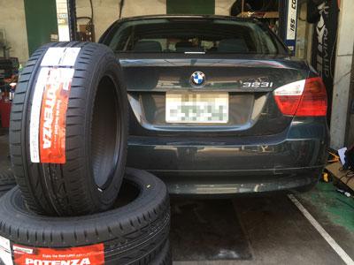 BMW ランフラットタイヤ